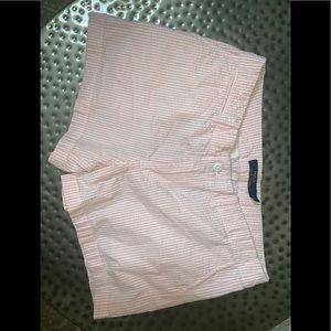 Ralph Lauren Pink & White Stripe Shorts